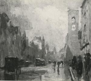 Amsterdam, Damrak, Beurs van Berlage