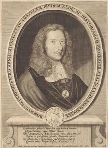 Portret van Robertus Keuchenius (1636-1673)