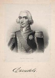 Portret van Herman Willem Daendels (1762-1818)