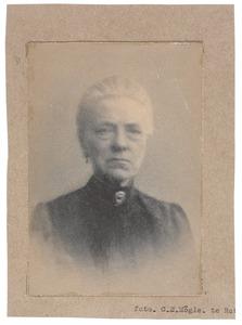 Portret van Barendina Sophia Michon (1840-1910)