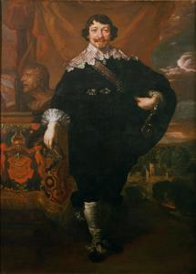 Portret van burgemeester Johann Maximilian zum Jungen (1596-1649)