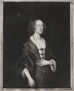 Portret van  Frances Devereux (1599-1674), Marchioness of Hertford and Duchess of Somerset