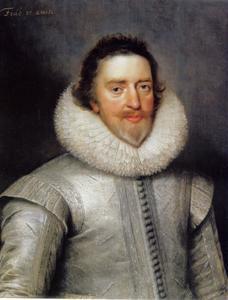 Portret van Edward Conway, 1st Viscount Conway of Ragley (1563-1631), opperbevelhebber van de Engelse troepbn in de Noordelijke Nederlanden en gouverneur van Den Briel (1599-1616)