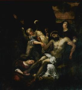 De bewening van Christus (Lucas 23, 53)
