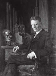 Portret van Hendrik Zwaardemaker (1857-1930)