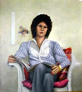 Portret van Josephine Keizer (....-....)