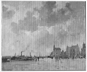 Dordrecht, een regenachtige dag