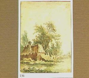 Hut aan de waterkant