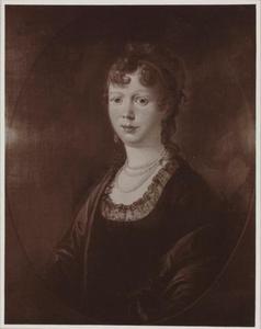 Portret van Johanna Andrea Charlotte van der Muelen (1774-1843)
