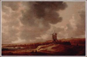 Landschap met molen (bij Elten?)