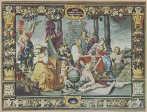 De Apotheose der Zeven Vrije Kunsten