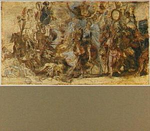 De triomf van Hendrik IV van Frankrijk