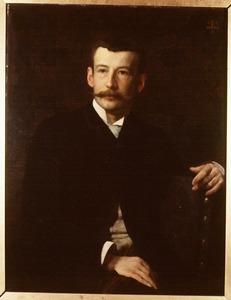 Portret van Maarten Iman Pauw van Wieldrecht (1860-1913)