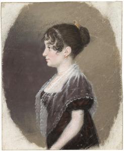 Portret van Caroline Henriette Bake (1786-1850)