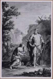 Christus verschijnt als hovenier aan Maria Magdalena (Noli me tangere) (Johannes 20:11-18)