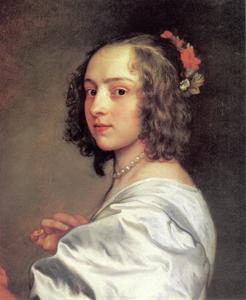 Portret van Margaret Lemon (?-?), maitresse van de kunstenaar
