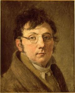 Zelfportret van Louis-Leopold Boilly (1761-1845)