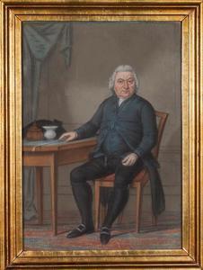Portret van een man, waarschijnlijk Jan Bisschop (1730-1803)