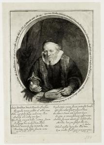 Portret van Johannes Cornelis Sylvius (1565-1638)