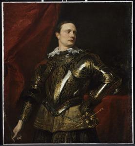 Portret van een onbekende Italiaanse veldheer