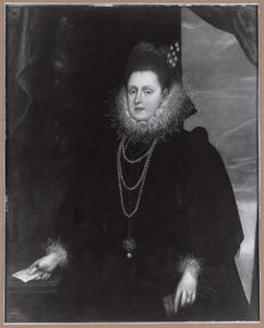 Portret van de Hertogin van Ferrara