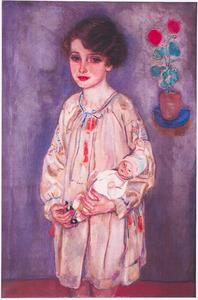 Portret van Hermana Cora Hijmans (1921-1964)