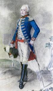 Portret van Dirk Wolter van Lynden (1762-1793)