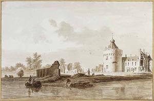 Kasteel Byland aan de Rijn bij Kleef