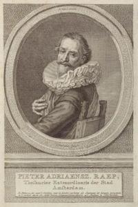 Portret van Pieter Adriaensz. Raep (1581-1666)