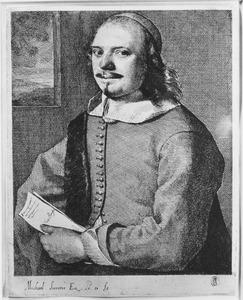 Portret van Willem van der Borcht (1624-1664)