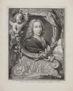 Portret van Pieter Rabus (1660-1702)