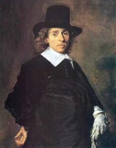 Portret van een man, waarschijnlijk Adriaen Jansz. van Ostade (1610-1685)