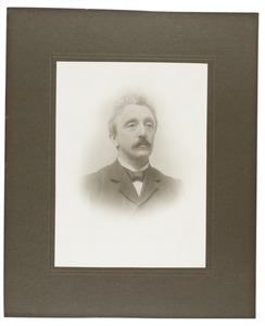 Portret van Gerhardus Hendricus van der Meer Mohr (1853-1916)