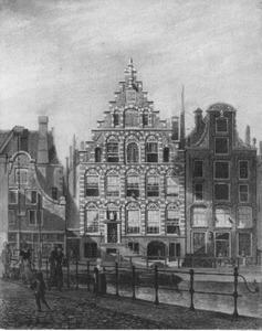 Logement De Liesveldsche Bijbel aan het Rokin in Amsterdam