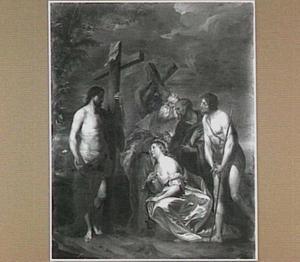 Christus met de bekeerde zondaars