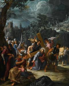 De kruisdraging van Christus (Johannes 19: 17)