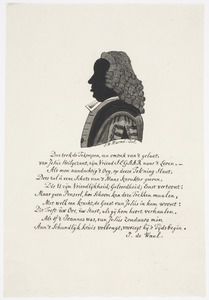 Portret van Carolus Segaar (1724-1803)