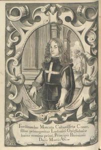 Portret van Ferdinandus Moncata