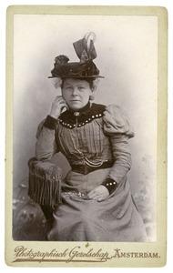 Portret van Geertrui Maria Herderschee (1854-1929)