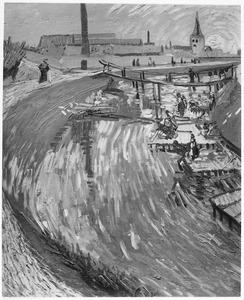 Wasplaats bij het kanaal 'La Roubine du roi'