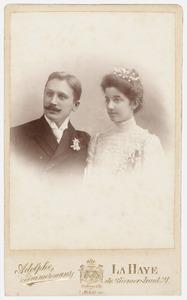 Portret van Cornelis Johannes van Leeuwen (1875-1931) en Sophia Voorhoeve (1880-1968)