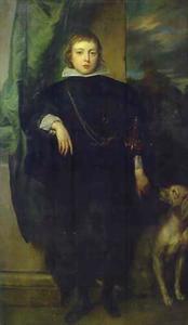 Portret van Filippo Francesco d' Este  (1621-1653)