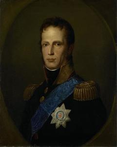 Portret van koning Willem I (1772-1843) als souverein vorst der Nederlanden
