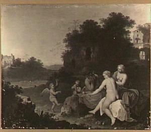 Landschap; Sine Cerere et Baccho friget Venus