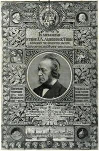 Gedenkplaat voor Joseph Albertus Alberdingk Thijm (1820-1889)