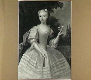Portret van Johanna Elisabeth Brungné du Buisson