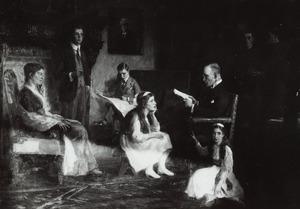 Portret van de familie van Carel Octave Marie van Nispen tot Sevenaer (1866-1949)