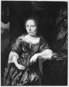 Portret van Ilske van Geersma (1616-1664)