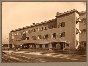 Huizen aan de Van Zaeckstraat in Den Haag, circa 1935