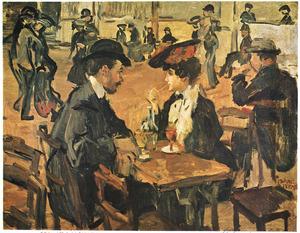 Café dansant, Moulin de la Galette